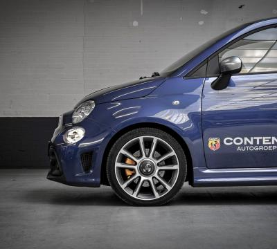 Photoshoot met de Abarth 595 Turismo